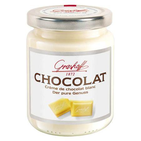 """Čokoládový krém biely ,,Čisté potešenie"""" , 250 g, zn. GRASHOFF"""