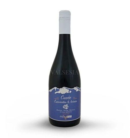 Cuvée Čučoriedka & Arónia, značkové ovocné víno, 0,75 l