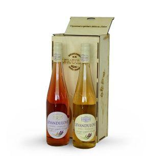 Darčekový set levaduľových vín 2 x 0,75 l