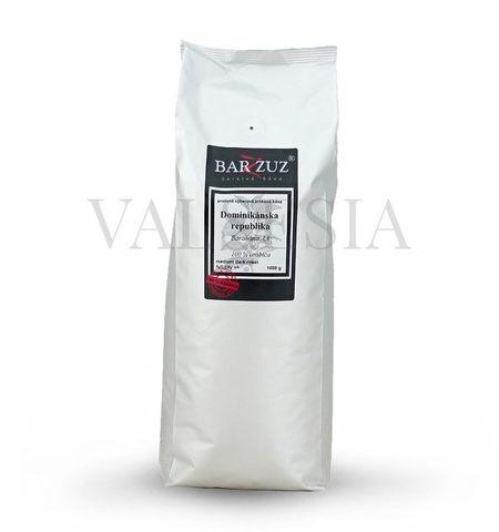 Dominikánska republika, Barahona AA, zrnková káva, 100 % arabica, 1000 g