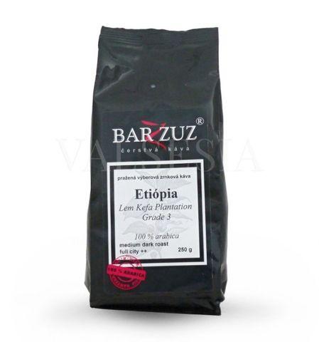 Etiópia Kefa, Gr. 3, Natural, zrnková káva, 100 % arabica, 250 g