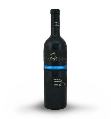 Cabernet Sauvignon 2015, neskorý zber, suché, 0,75 l