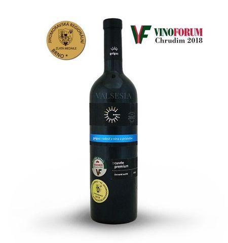 Cuvée Premium 2015, akostné značkové víno, suché, 0,75 l