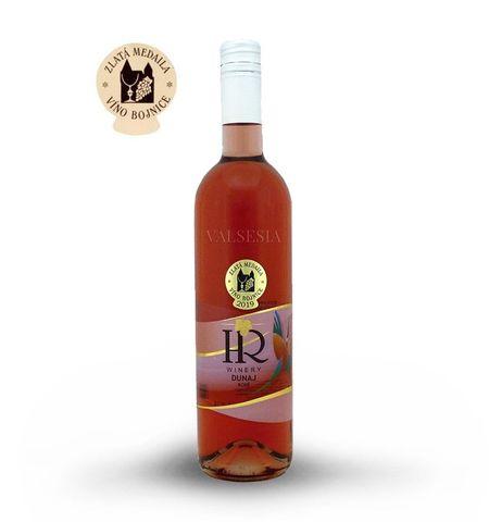 Dunaj rosé 2018, akostné víno, polosladké, 0,75 l