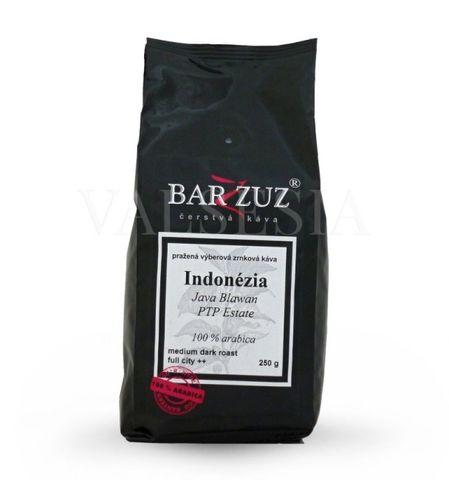 Indonézia Java Blawan PTP Estate, zrnková káva, 100 % arabica, 250 g