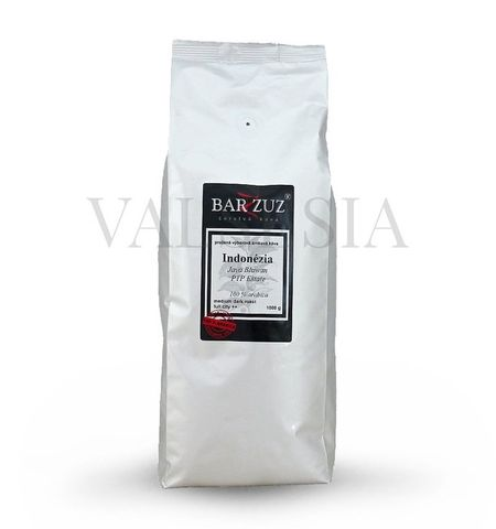 Indonézia Java Blawan PTP Estate, zrnková káva, 100 % arabica,1000 g
