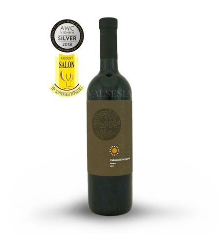 Cabernet Sauvignon, r. 2013, výber z hrozna, suché, 0,75 l