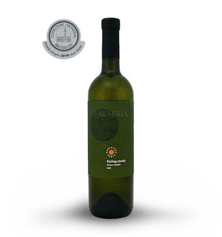 Rizling rýnsky 2018, CHOP, akostné víno, suché, 0,75 l