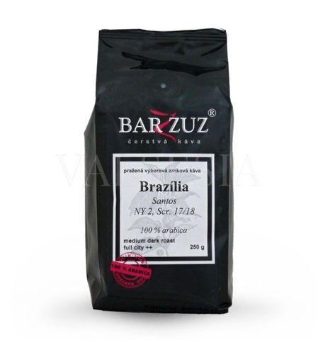 Brazília Santos NY 2/3, Scr. 17/18, zrnková káva, 100 % arabica, 250 g
