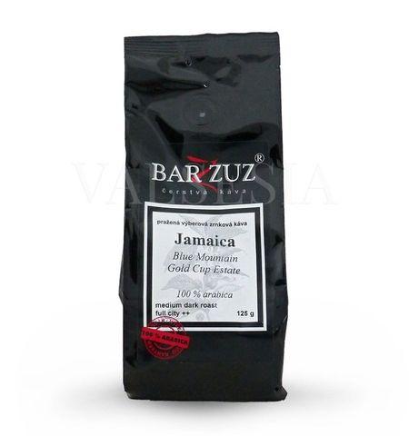 Jamaica Blue Mountain Gold Cup Estate, zrnková káva, 100 % arabica, 125 g