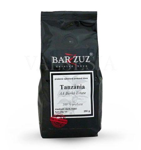 Tanzánia AA, Burka Estate, zrnková káva, 100 % arabica, 250 g