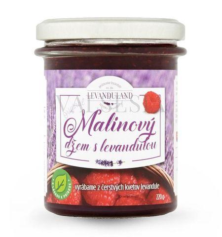 Malinový džem s levanduľou, 220 g