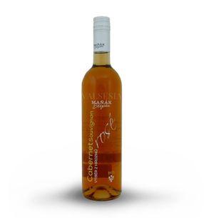 Cabernet Sauvignon rosé 2015, výber z hrozna, polosladké, 0,75 l