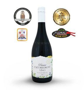 Patriot - čučoriedkové víno, značkové ovocné víno, sladké, 0,75 l