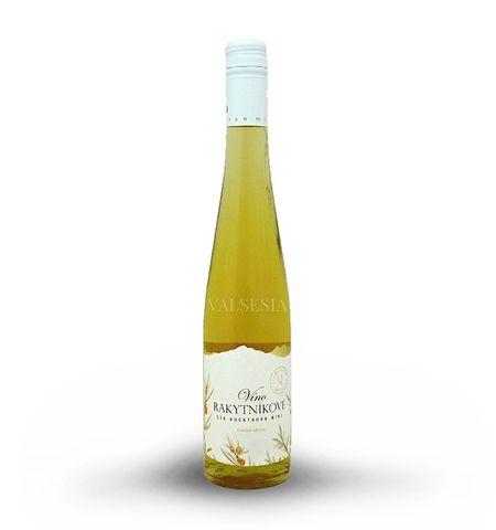 Rakytníkové víno, značkové ovocné víno, sladké, 0,5 l