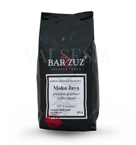 Moka Java, premium gourmet coffee blend, zrnková káva, 100 % arabica, 250 g