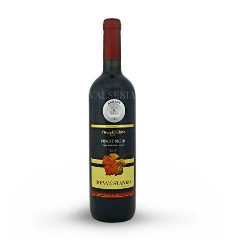 Pinot Noir (Rulandské modré) - Čachtice 2013, výber z hrozna, suché, 0,75 l