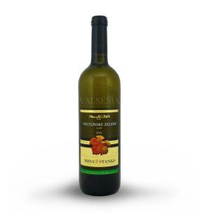 Veltlínske zelené - Dolné Orešany 2016, akostné víno, suché, 0,75 l