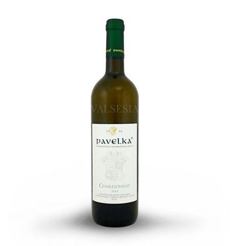 Chardonnay 2014, výber z hrozna, suché, 0,75 l