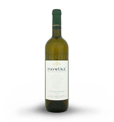 Chardonnay 2017, výber z hrozna, suché, 0,75 l