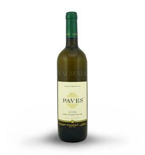 Paves biely - cuvée 2015, akostné značkové víno, suché, 0,75 l