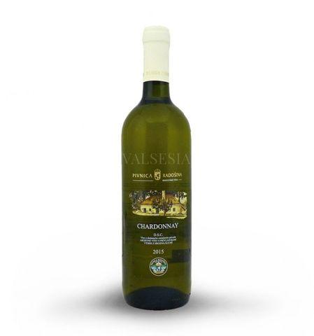 Chardonnay 2015, výber z hrozna, suché, 0,75 l