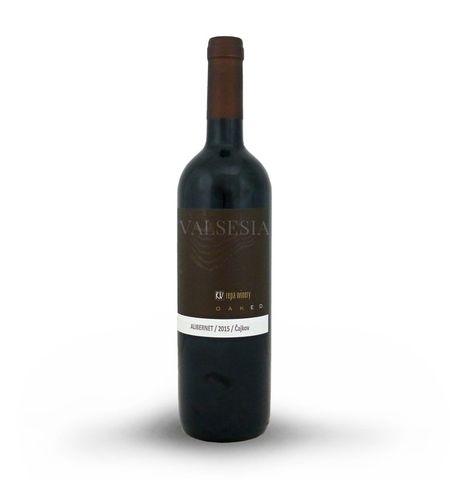 Alibernet 2015, Oaked, akostné víno, suché, 0,75 l