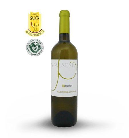 Muller Thurgau 2016, akostné víno, suché, 0,75 l