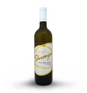 Veltlínske zelené 2015, akostné víno, polosuché, 0,75 l