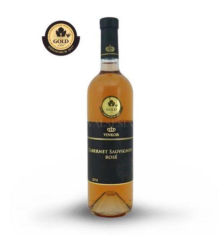 Cabernet Sauvignon rosé 2016, akostné víno, suché, 0,75 l
