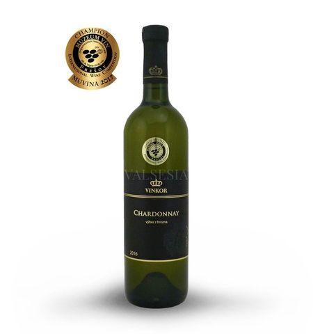 Chardonnay 2016, výber z hrozna, suché, 0,75 l
