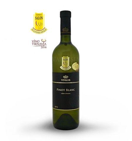 Pinot blanc (Rulandské biele) 2015, výber z hrozna, polosuché, 0,75 l