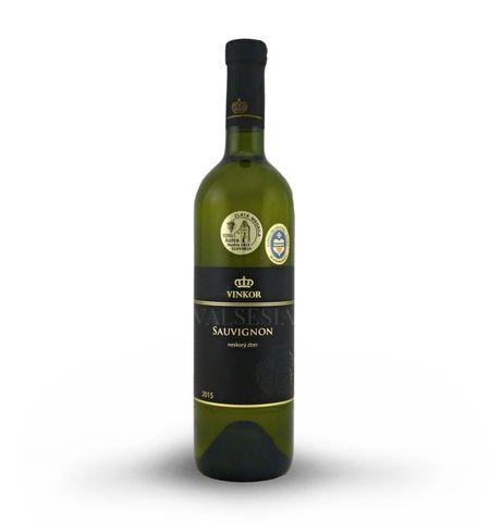 Sauvignon 2015, neskorý zber, suché, 0,75 l
