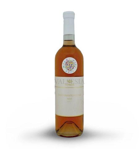 Svätovavrinecké rosé 2016, akostné víno, suché, 0,75 l