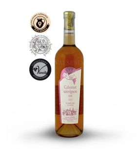 Cabernet Sauvignon rosé 2015, neskorý zber, polosuché, 0,75 l