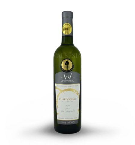 Chardonnay 2013, výber z hrozna, suché, 0,75 l