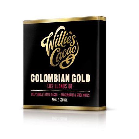 Willie´s - Horká čokoláda 88% Colombian Gold, 50 g
